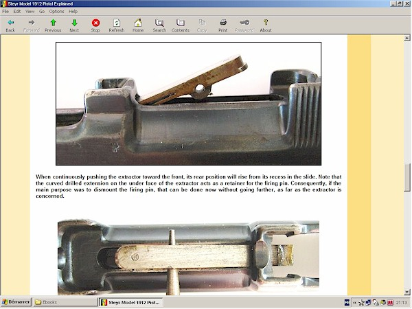 The Steyr Pistol Model 1912 Explained Downloadable Ebook