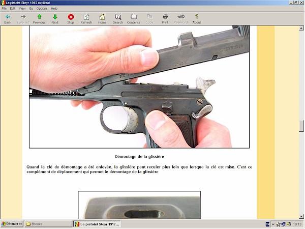 pistolet Steyr 1912