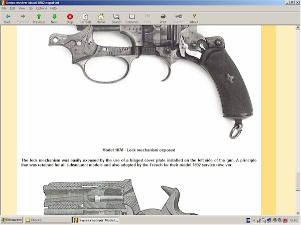 Swiss revolver Model 1882 and 1882/29