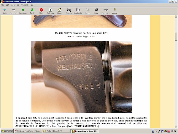 revolver suisse modèle 1882