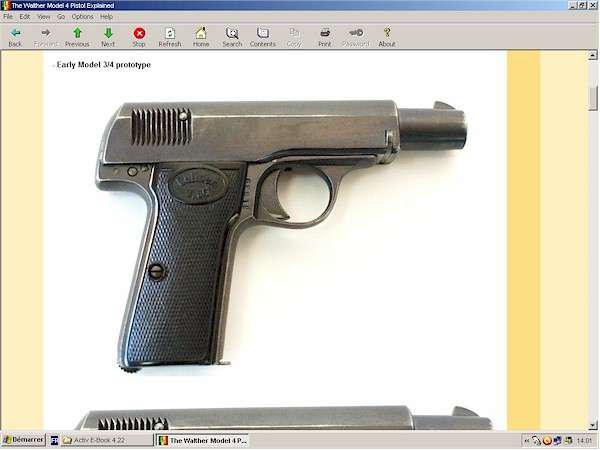 Walther Model 4 pistol