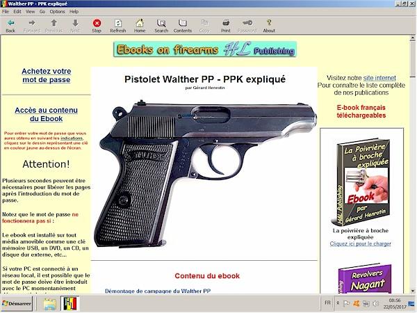 Pistolet Walther PP PPK expliqué