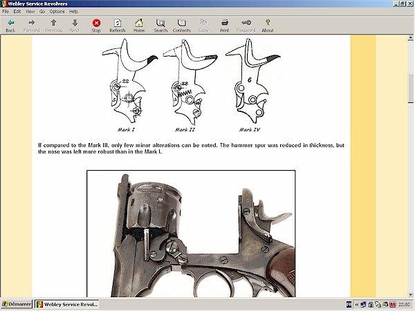 webley mark III revolver