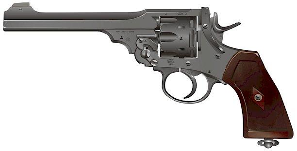webley mark VI revolver