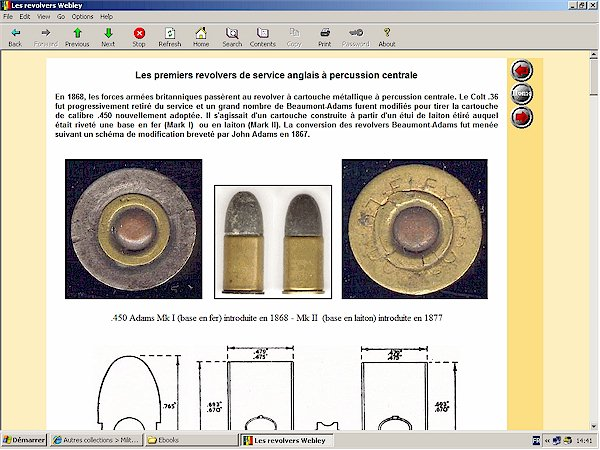 webley mark I revolver cartridge