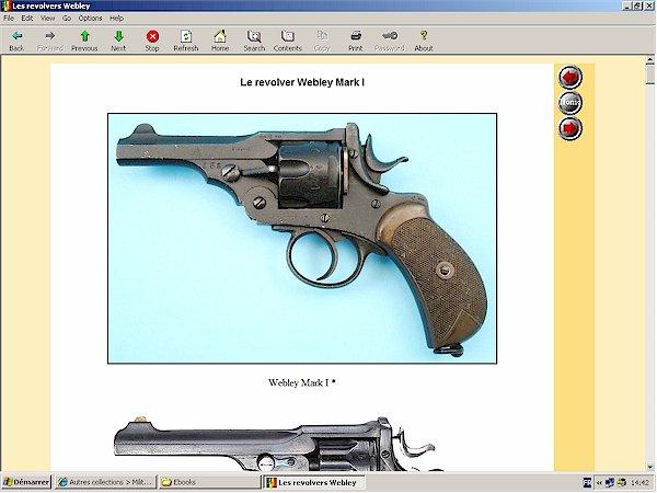 webley mark I revolver