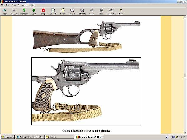webley revolver markings